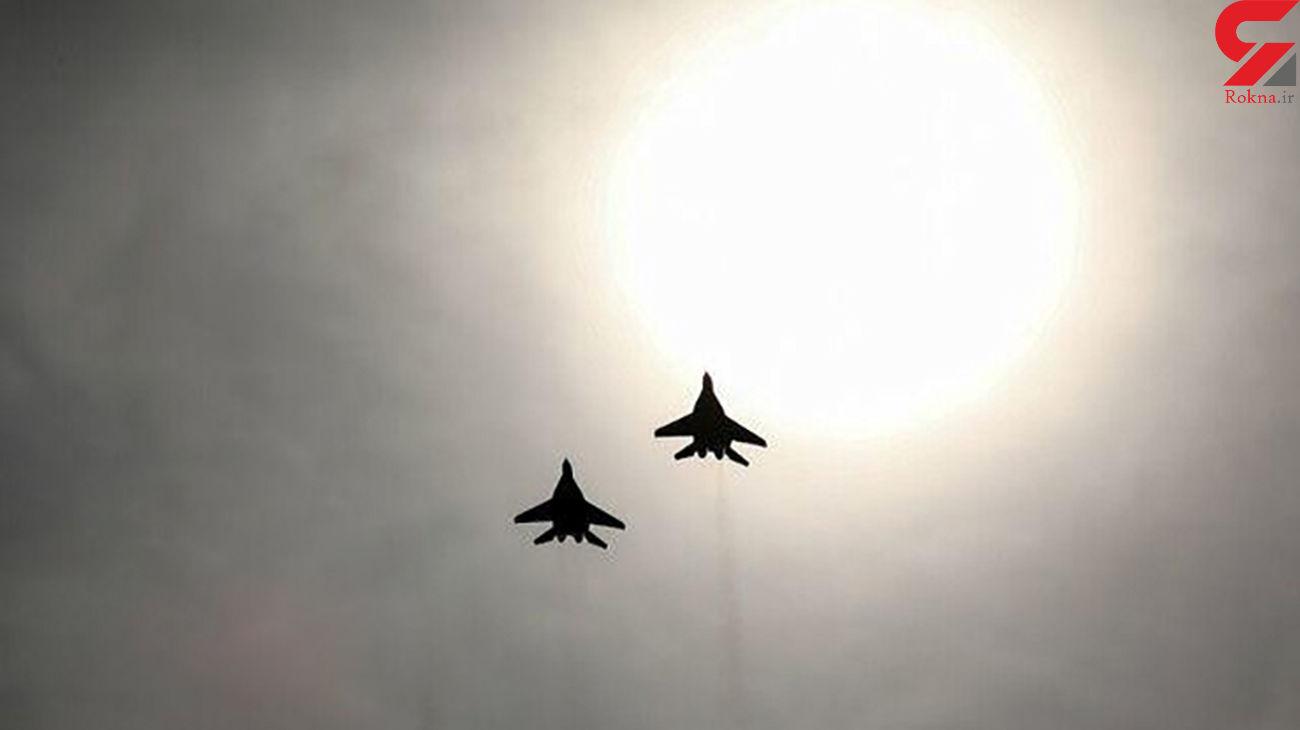پرواز جنگندههای ایران برای رویارویی با جنگندههای آمریکایی در خلیج فارس