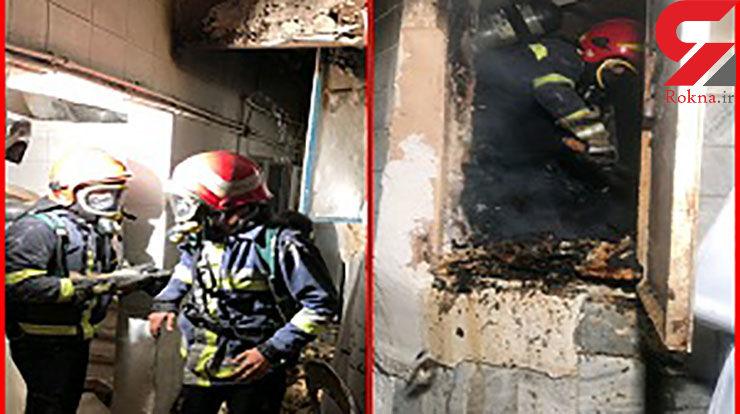 آتش سوزی شدید در بیرجند+ عکس