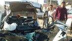 تصادف خونین جاده بوکان- میاندوآب 2 کشته داد + عکس