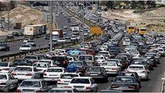 ترافیک در آزادراه کرج-تهران سنگین است/ بارش برف و باران در چند استان