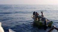 نجات جان 3 صیاد پس از تلاشی 9 ساعته در آبهای جنوب کیش