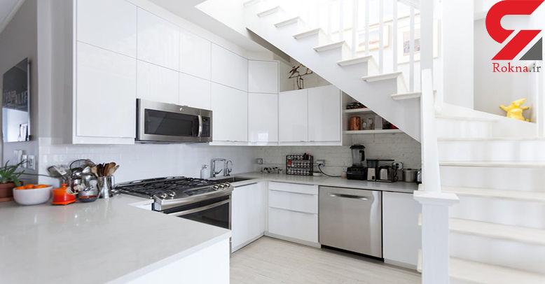 ترفندهای نظافت 20 دقیقه ای  آشپزخانه برای زنان کارمند