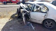 مرگ هولناک راننده سمند در برخورد با پراید در مراغه