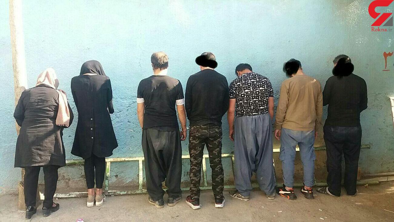 بازداشت 14 متجاهر در بوکان
