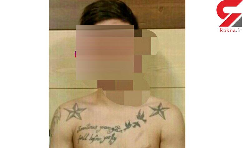 پسر لاغر اندام سایه وحشت خیابان دولت بود! + عکس