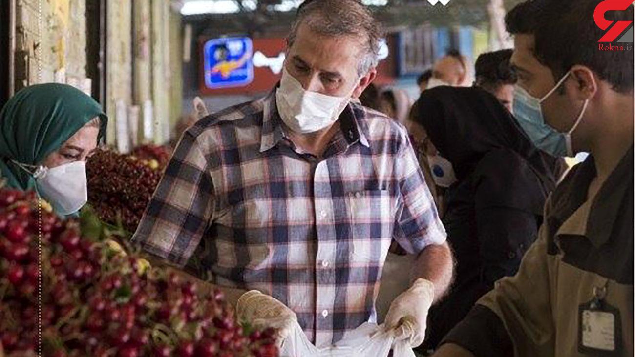 خرید 20 هزار نفر در روز از میدان میوه و تره بار صادقیه