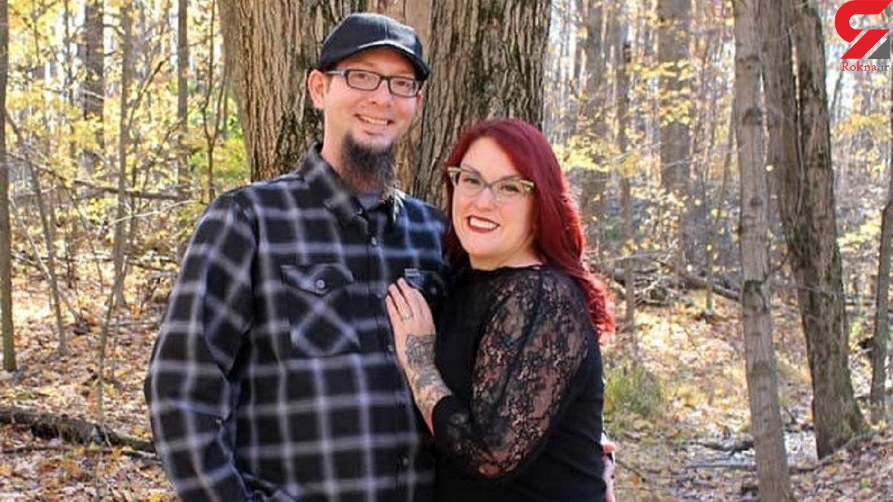 عکس خاص از عروس و داماد در جنگل
