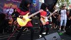 دختران مججبه ای که  گروه موسیقی متال دارند