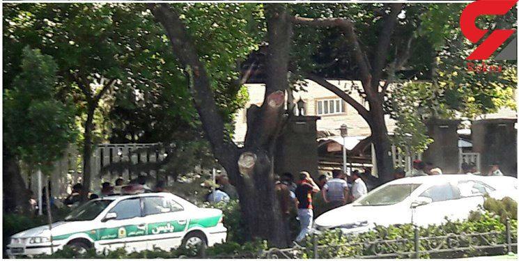 تجمع دستفروشان بازار تبریز مقابل ساختمان فرمانداری+ عکس