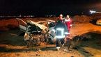 تصادف شدید و مرگبار در جاده نوشآباد - کاشان / 2 کشته 3 مصدوم