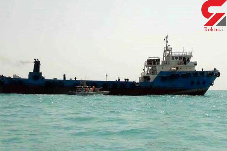 عملیات جدید سپاه در خلیج فارس / توقیف نفتکش قاچاق