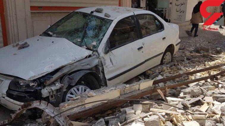 اولین عکس از زلزله وحشتناک مسجد سلیمان