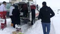 نجات جان 39 زن باردار از محاصره برف در آذربایجان غربی