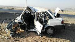 تصادف خونین ۸ نفر بر اثر برخورد پراید و MVM در محور اهواز-آبادان
