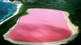 نمایی از دریاچه های رنگارنگ + فیلم