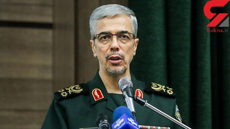 توطئهافکنیها ادامه یابد، نیروهای مسلح ایران ساکت نمینشینند
