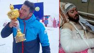 حمله وحشیانه 5 جوان با قمه به قهرمان اسکی ایران / در شمشک تهران رخ داد + عکس