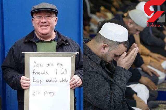 واکنش دلگرمکننده یک مسیحی در حمایت از مسلمانان قتل و عام شده نیوزلند + عکس