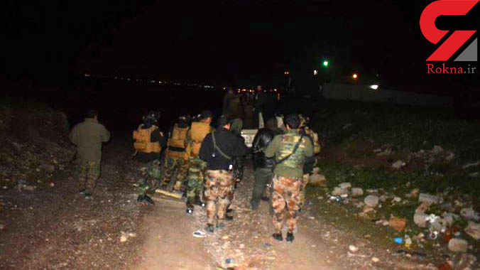 عملیات نیروهای بسیج مردمی برای شناسایی عاملان حمله تروریسی به زائران ایرانی+ تصاویر