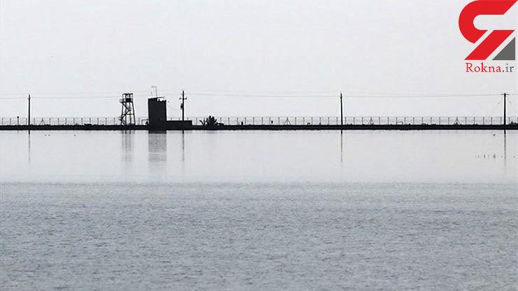 هورالعظیم کاملا زیر آب /  ارتباط زمینی با پاسگاههای مرزی قطع شد
