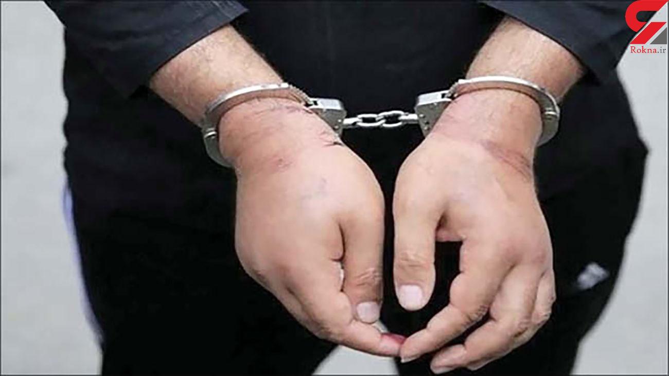 دستگیری سارق و کشف موتورسیکلت سرقتی در جهرم