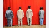 وزارت اطلاعات انتشار داد / عکس متفاوت از 4 تروریست بعد از بازداشت