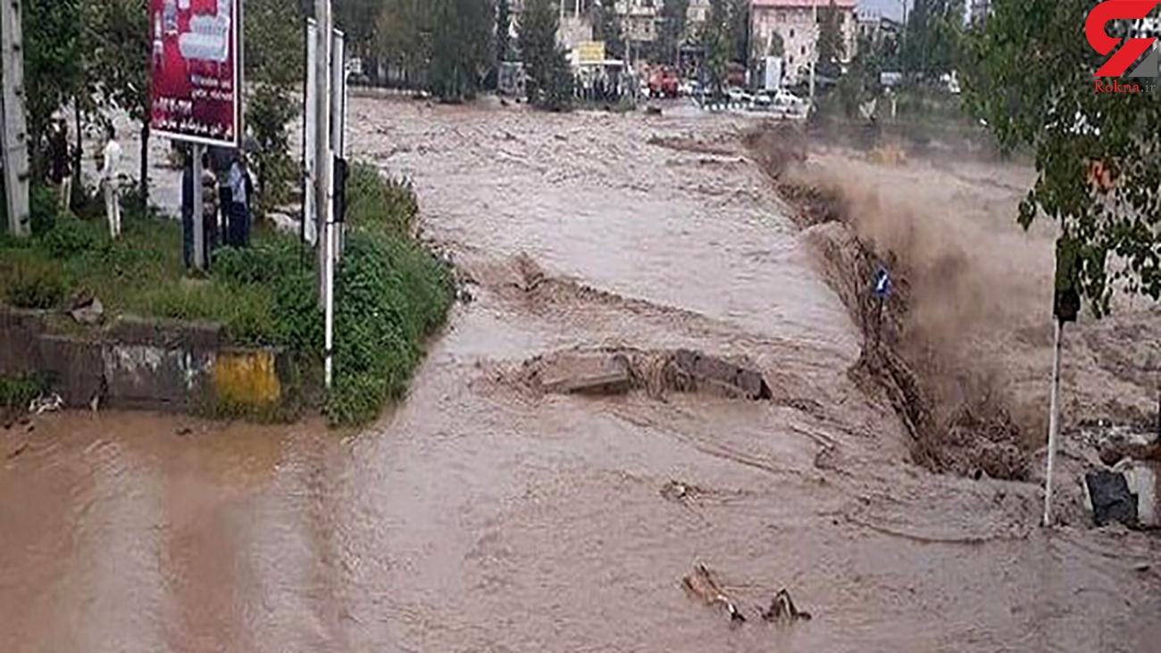 رانش جاده در ۲۲ محور روستایی/ آب شرب ۶۲۵ خانوار همچنان قطع است