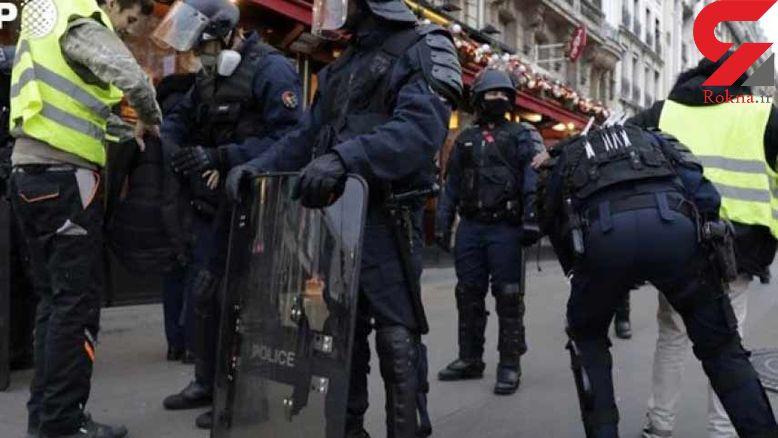 دستگیری 481 نفر در اعتراضات امروز در فرانسه