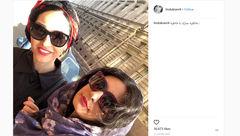 خاطره سازی های دو بازیگر زن ایرانی در روسیه +عکس
