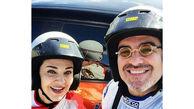 تفریح لاکچری رویا نونهالی و همسرش! +عکس