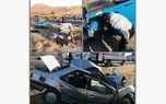 عکس وحشتناک از یک تصادف فجیع / 5 نفر لت و پار شدند