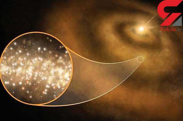 دلیل درخشش رشته های کم نور کهکشان راه شیری کشف شد
