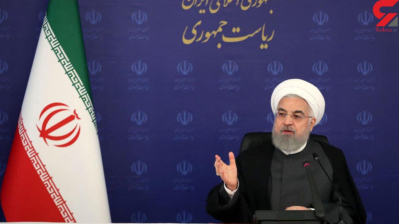 روحانی: قرمز شدن چند شهر زنگ خطر آغاز موج چهارم کرونا است