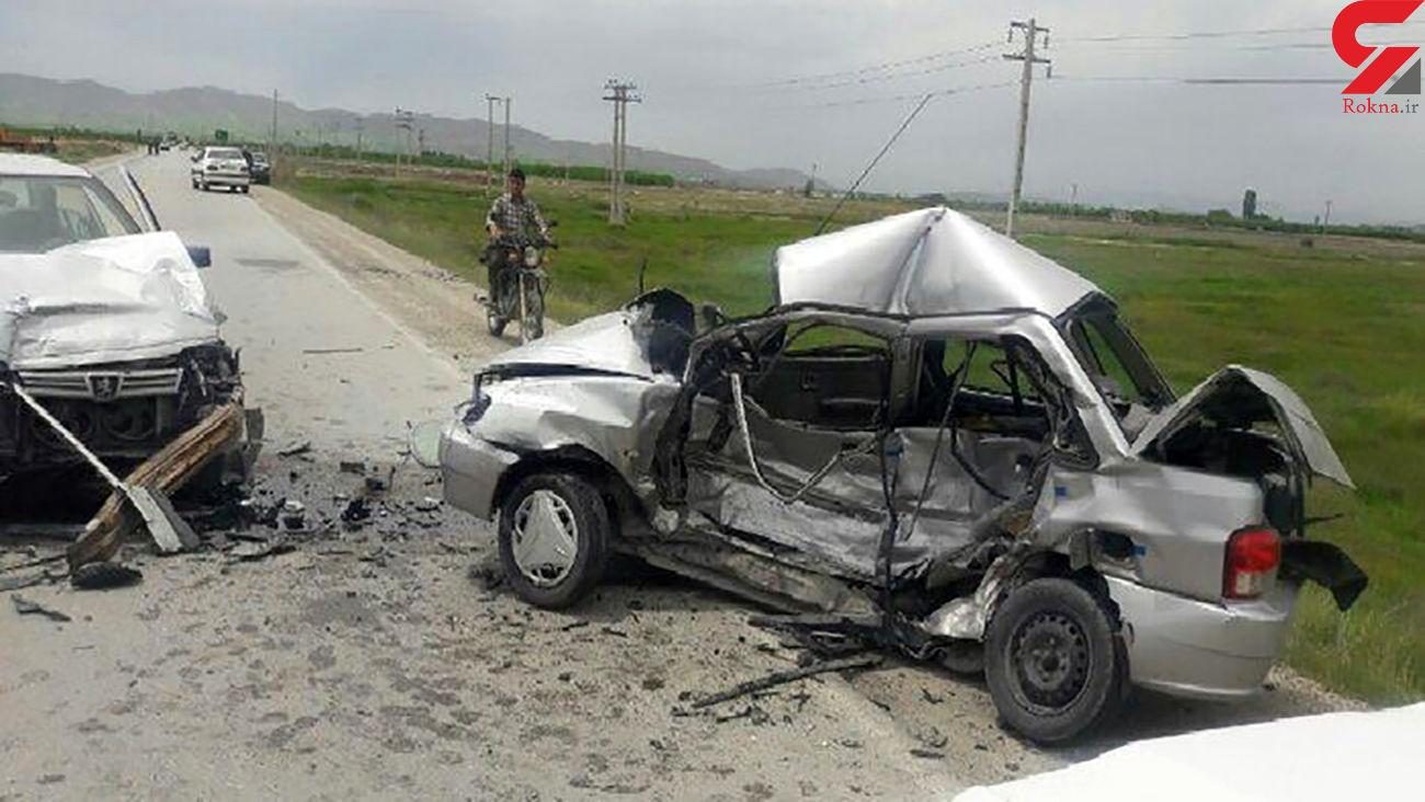 سوانح رانندگی در کرمانشاه ۲ کشته بر جا گذاشت