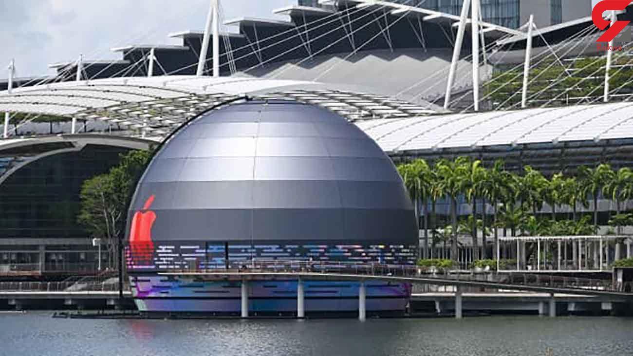 افتتاح اولین فروشگاه شناور در اپل