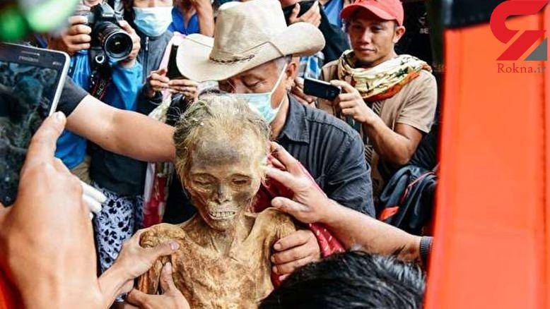جسد این زن پس از 30 سال سالم است + عکس های باورنکردنی!
