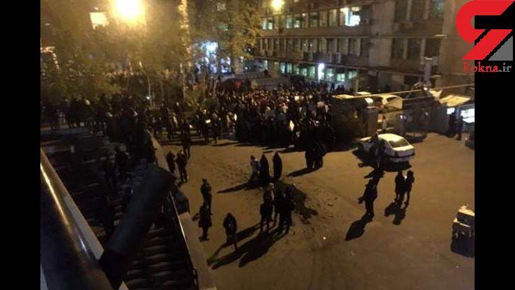 ماجرای سناریوی معترضان برای ایجاد ناآرامی در دانشگاهها + عکس ها