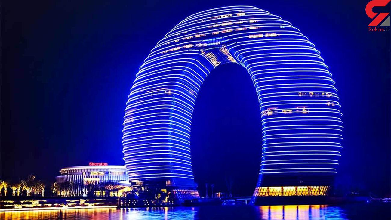 اقامت رویایی در عجیب ترین هتل چینی + فیلم