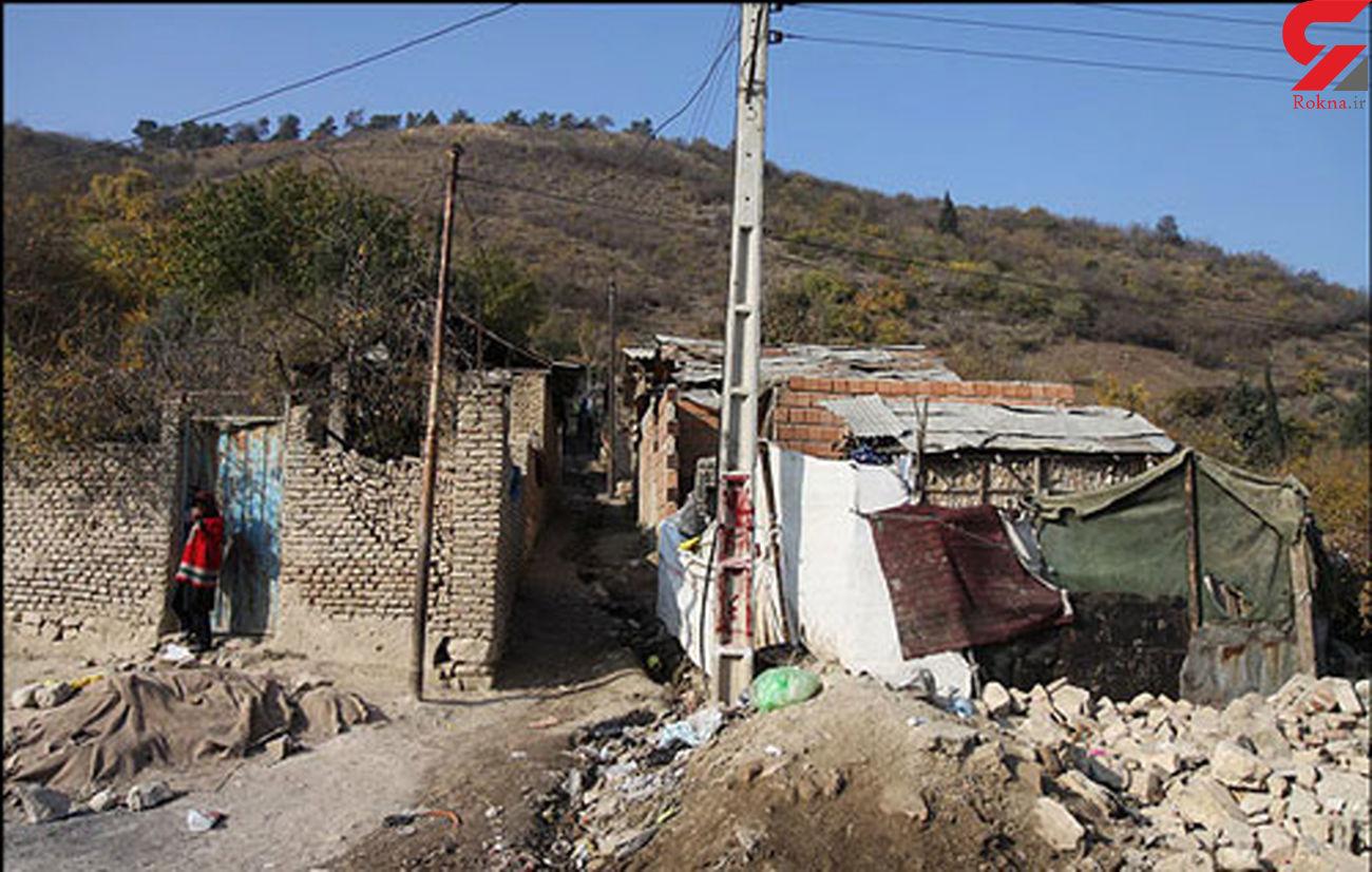 نگهداشتن حاشیه نشین ها در فقر برای جلوگیری از کوچ به شهر /سکونت در خانه دیگران در حاشیه اصفهان