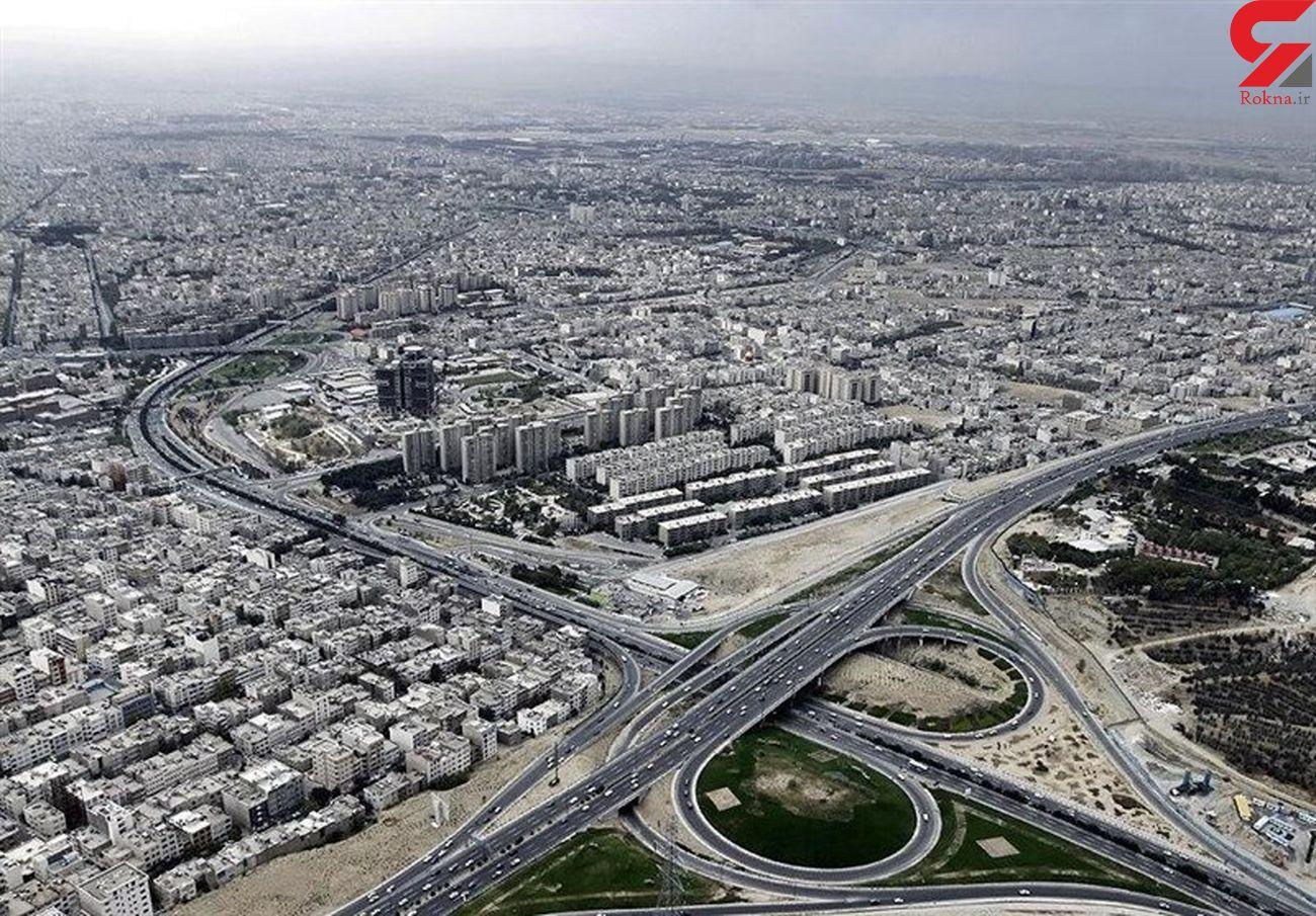 منطقه قرمز تهران تعیین شد