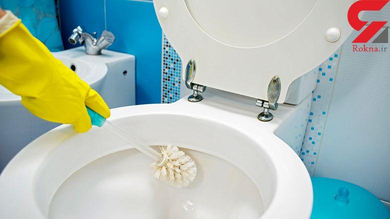 قرص تمیز کننده توالت فرنگی در خانه بسازید+دستور تهیه