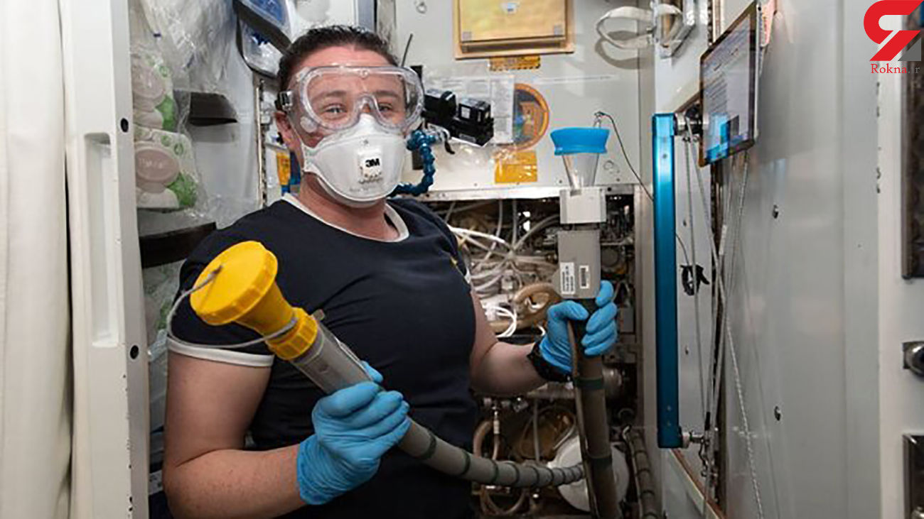 ناسا توالت به فضا ارسال می کند / فضانوردان در ماه کار خرابی کردند!