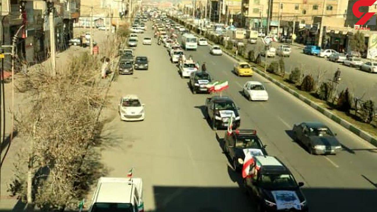 مسیرهای 12 گانه برای حرکت خودرویی و موتوری مراسم 22 بهمن