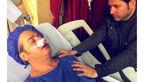 عکسی تکان دهنده از خواننده پاپ در بیمارستان / برای این هنرمند دعا کنید +عکس