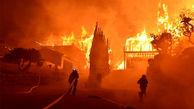 آتش سوزی در کالیفرنیا/ دهها هزار نفر منازل خود را تخلیه کردند+عکس