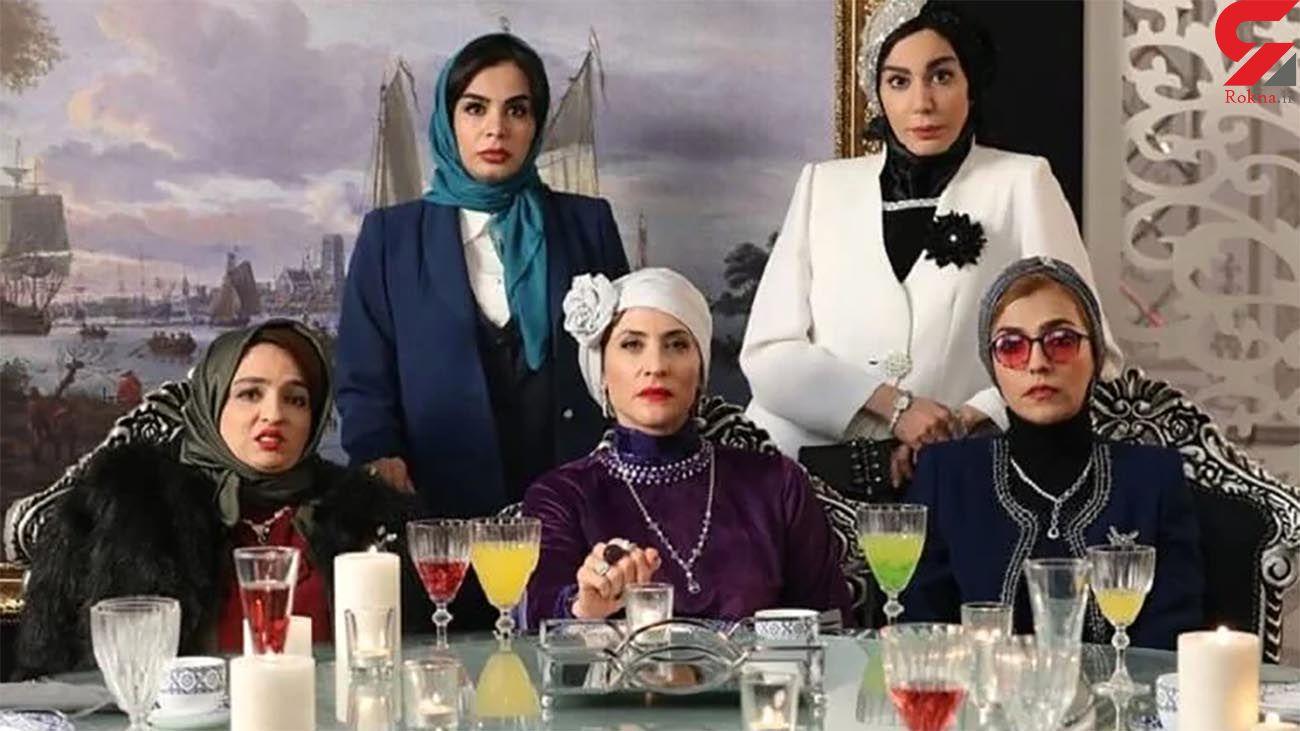 عکس صمیمی از پشت صحنه سریال مهران مدیری