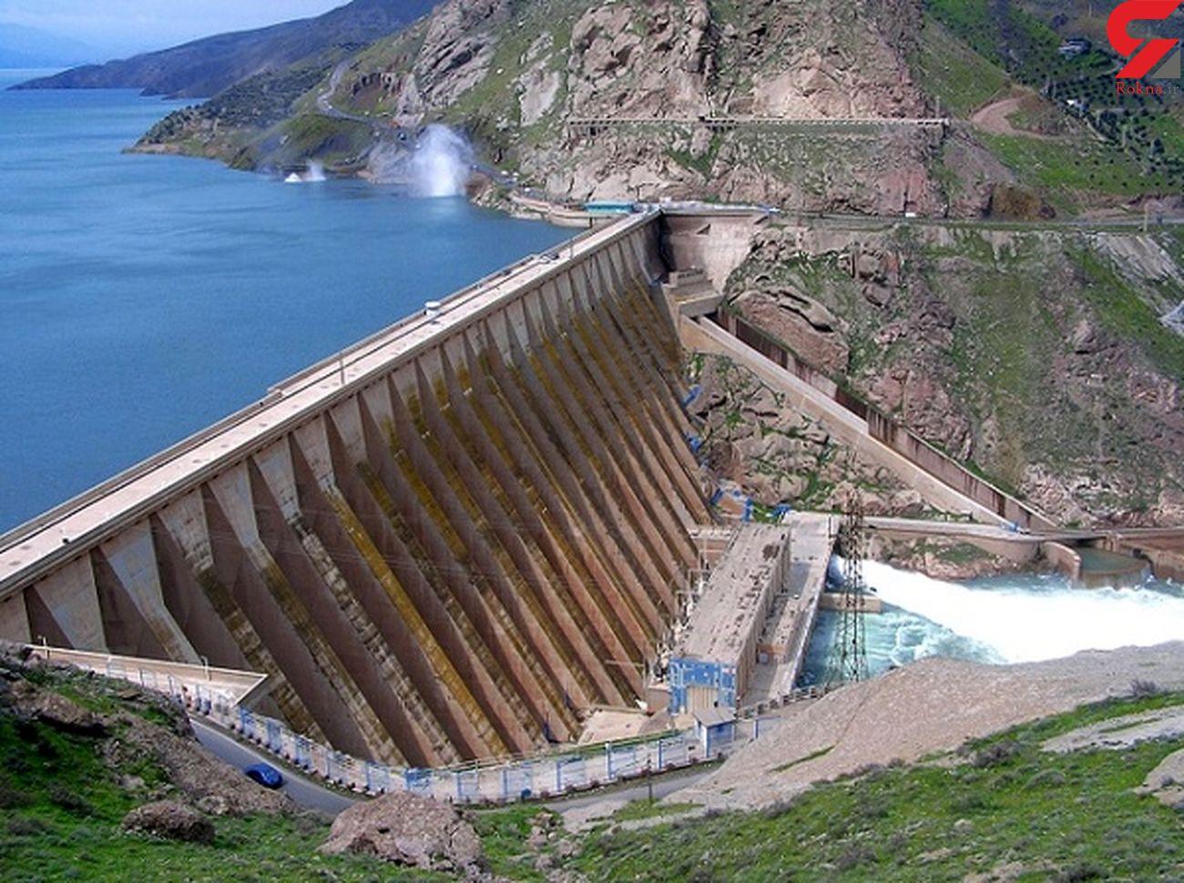 آبگیری 80 درصدی سد سفید رود