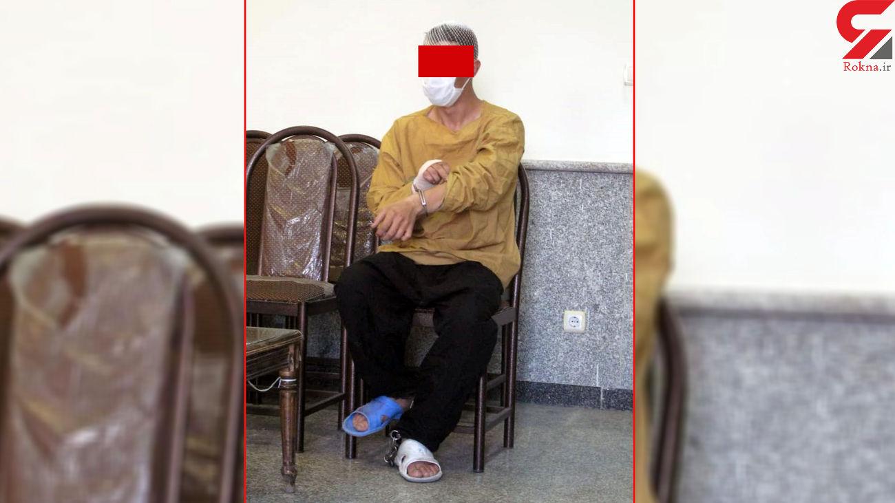 اسید پاشی در پاتوق عمو شاهرخ  / مسعود دنبال فندک طلا بود + عکس
