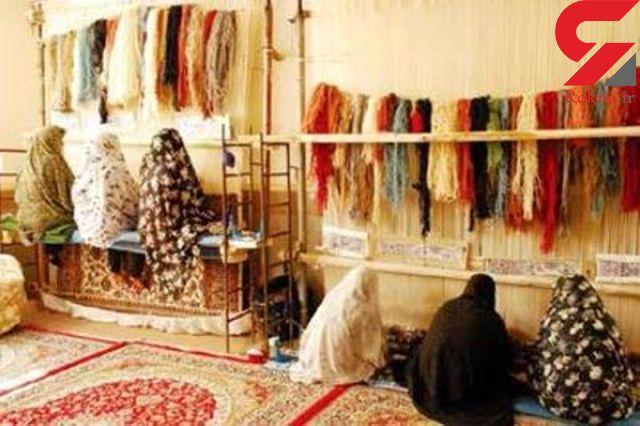 تار و پود سست تولید و صادرات فرش در استان قم