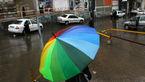 بارشهای پراکنده در سواحل شمالی کشور/وزش باد شدید در اغلب استانها